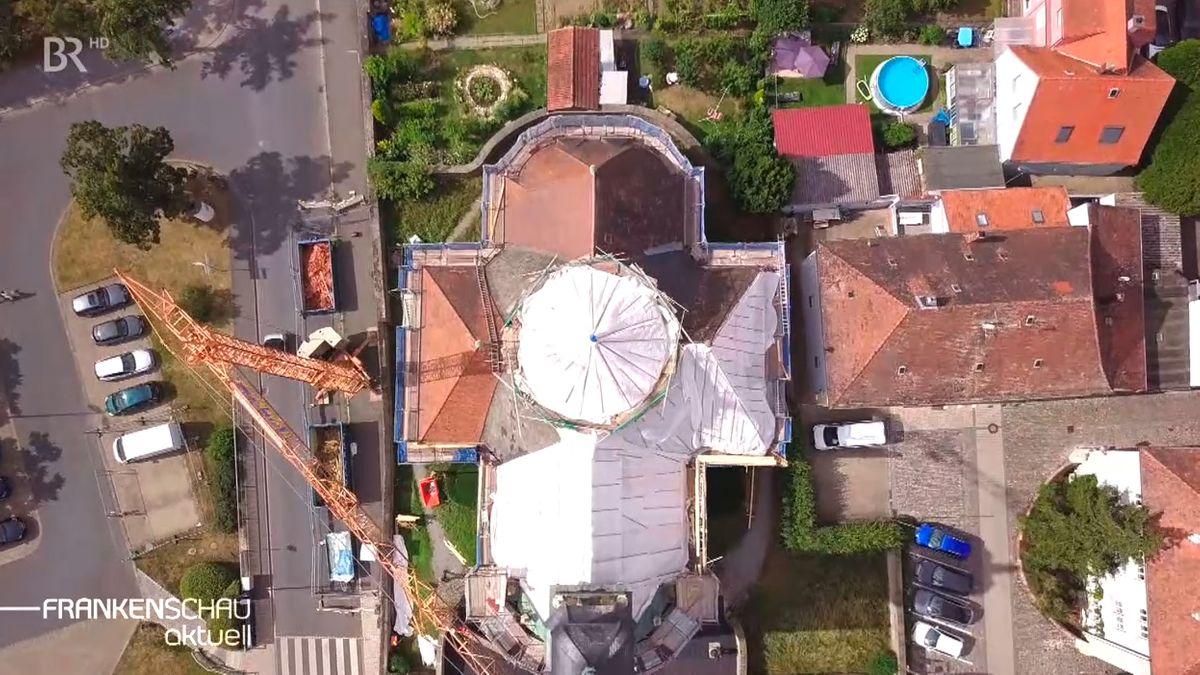 Die Kreuzkapelle in Kitzingen wird saniert.