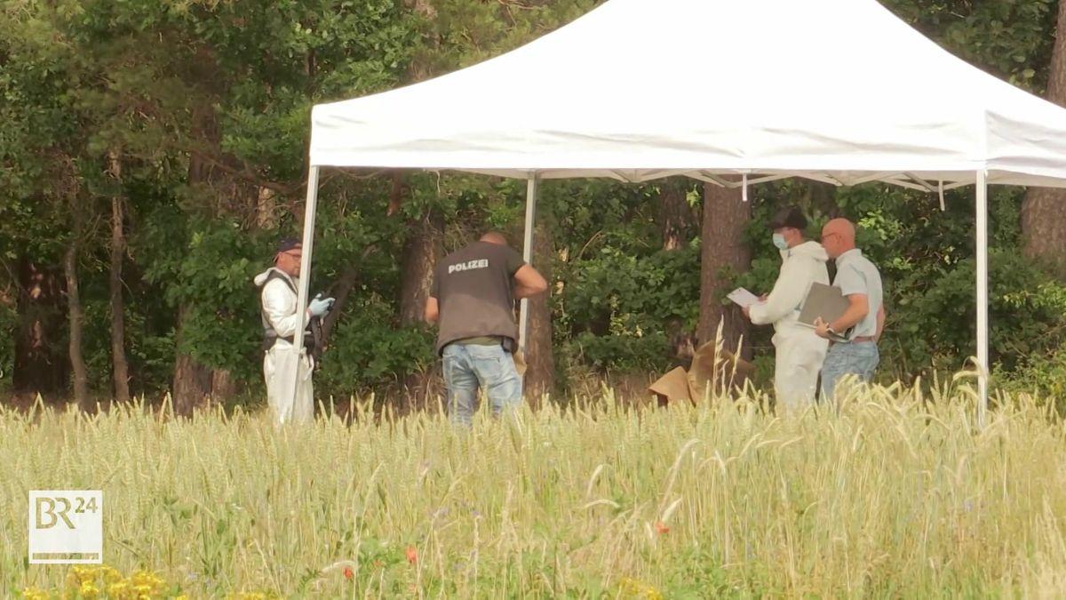 Leiche in Waldstück bei Oberrimbach gefunden
