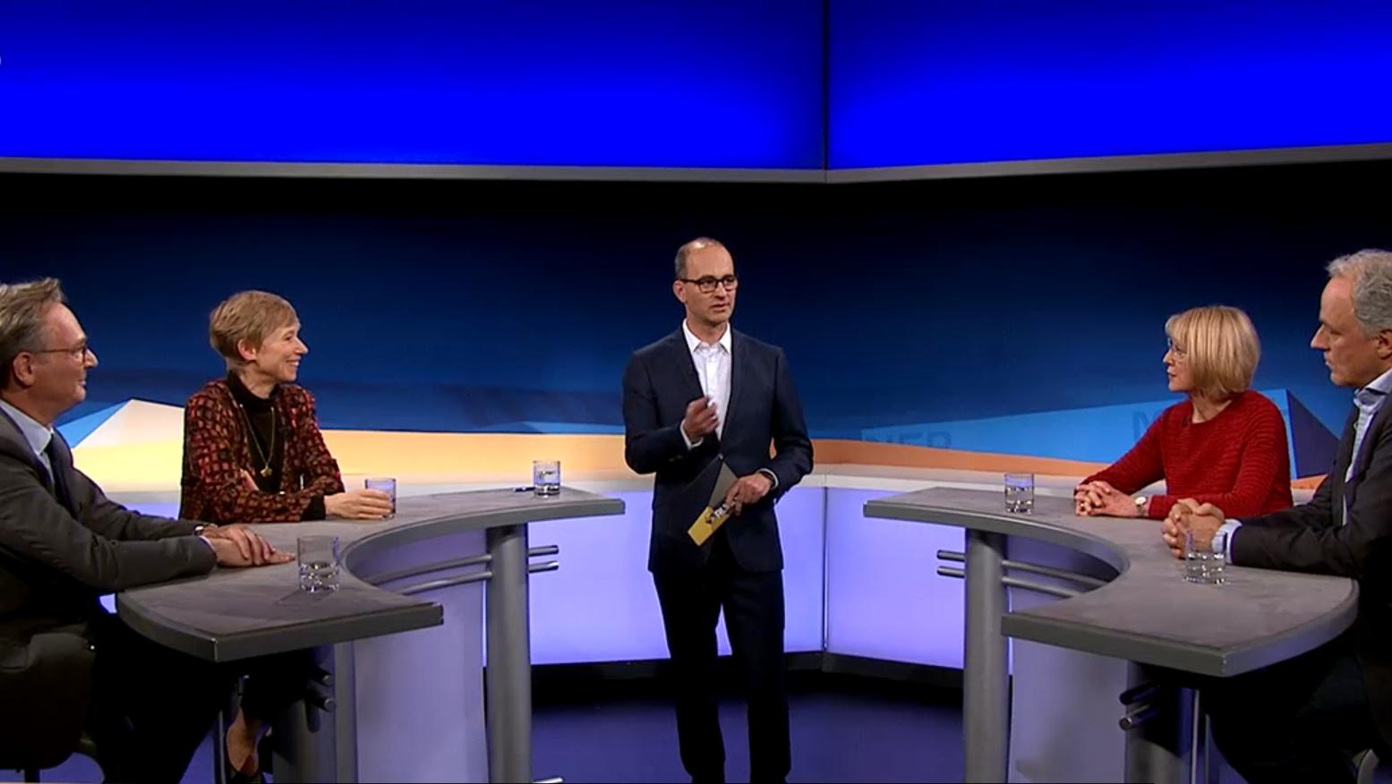 In der Münchner Runde, BR-Talkformat diskutieren die Gäste über das Thema Homöopathie.
