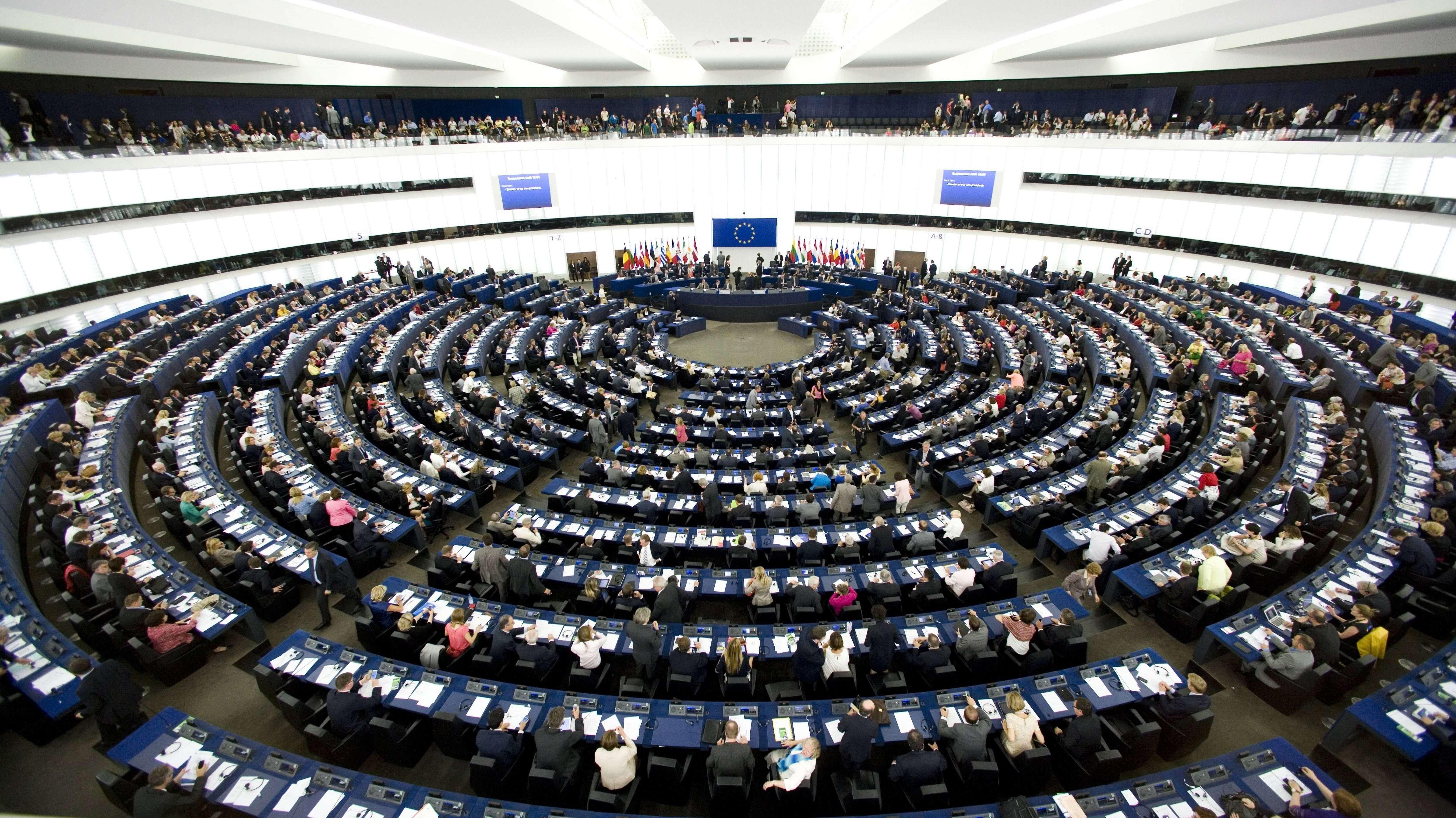 Plenum des Europaparlaments