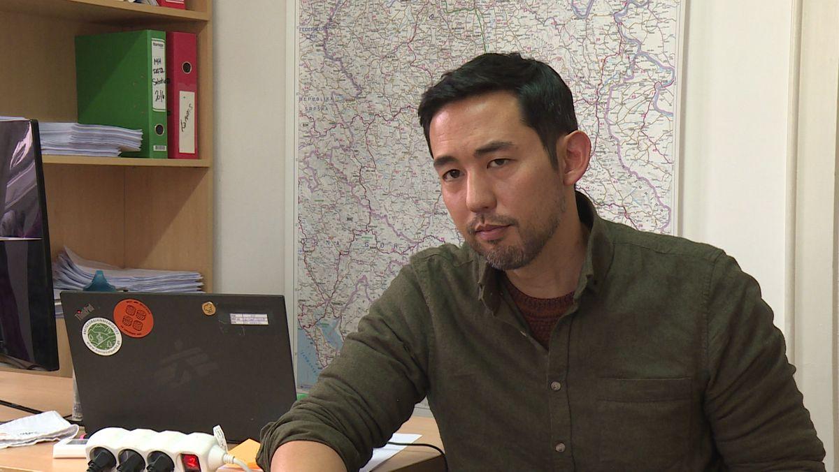 """Die Verletzungen deuten auf Polizeiknüppel hin, sagt Daniel Song von """"Ärzte ohne Grenzen"""". Diese haben 17 Verletzte aus dem Pushback behandelt."""