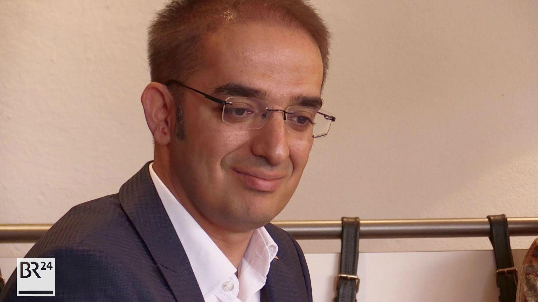 Ümit Sormaz ist OB-Kandidat für die Nürnberger FDP