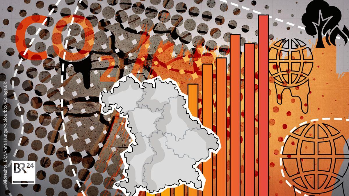 Symbolbild Klimawandel Bayern