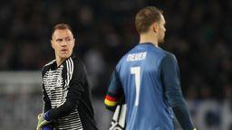 Marc-André ter Stegen (links) und Manuel Neuer   Bild:picture-alliance/dpa
