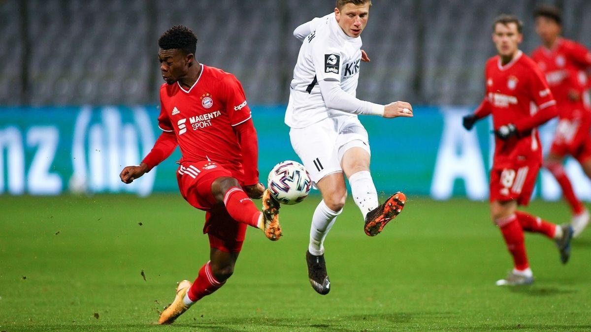 Spielszene FC Bayern München II - SV Meppen