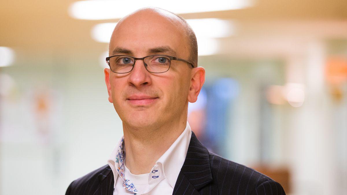 Porträt des Schriftstellers Jakob Hein