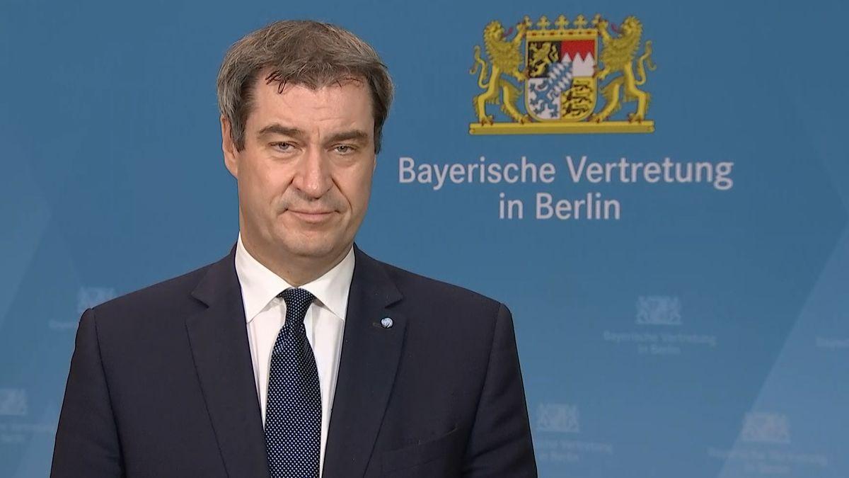 Markus Söder im Interview mit dem BR am 30.04.2020