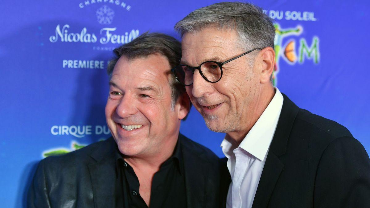 Patrick Lindner (links) und sein Lebensgefährte Peter Schäfer (hier im Februar 2020 in München) haben sich am Wochenende das Ja-Wort gegeben.
