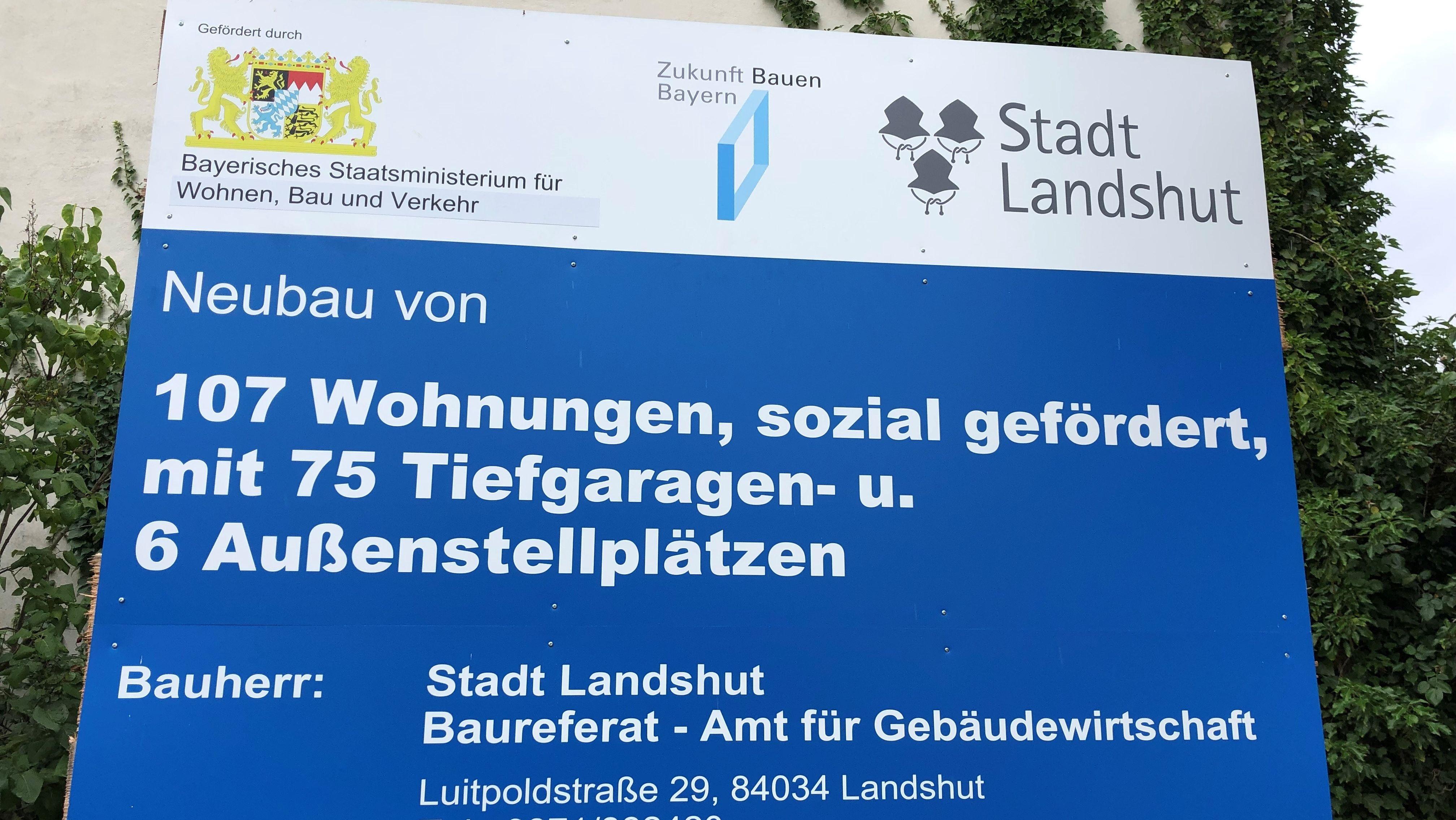 """Landshut: """"effizient Bauen - leistbar Wohnen"""""""