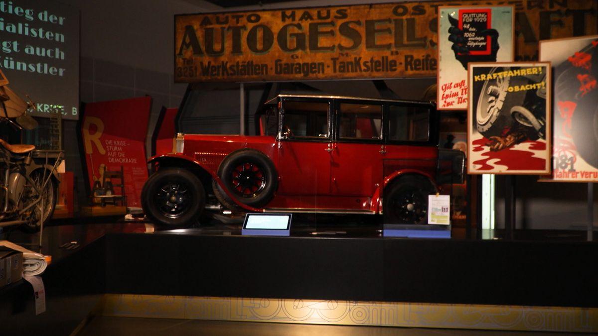 Neuer Oldtimer im Museum der Bayerischen Geschichte