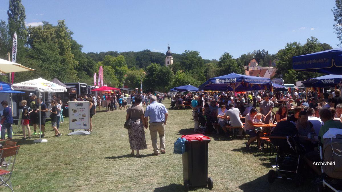Ein Fest im Stadtpark Schwandorf (Archivbild von 2017)
