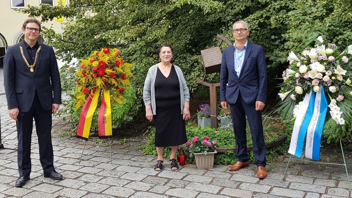 Würzburg gedenkt der Ermordung von Sinti und Roma