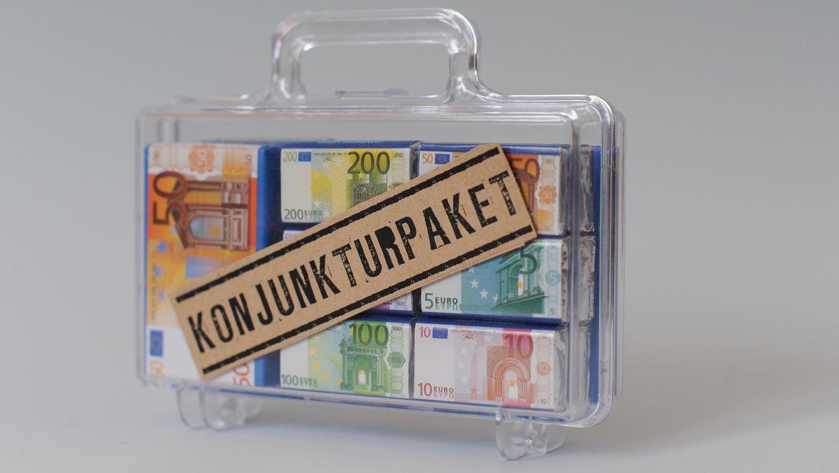 Konjunkturpaket (Symbolbild)