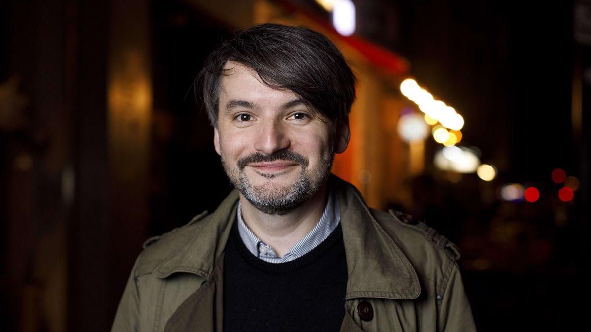 Porträt des Schriftstellers Saša Stanišić
