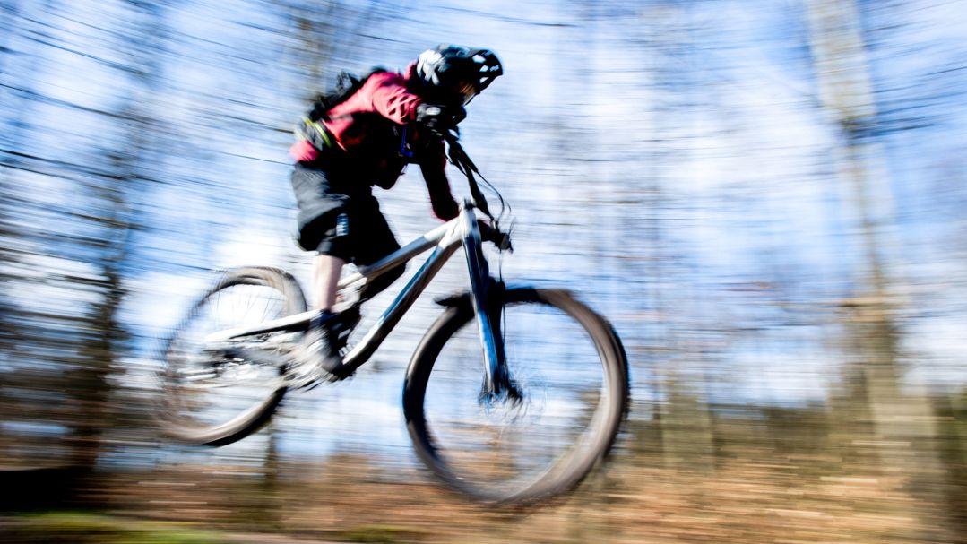 Symbolbild Mountainbiker