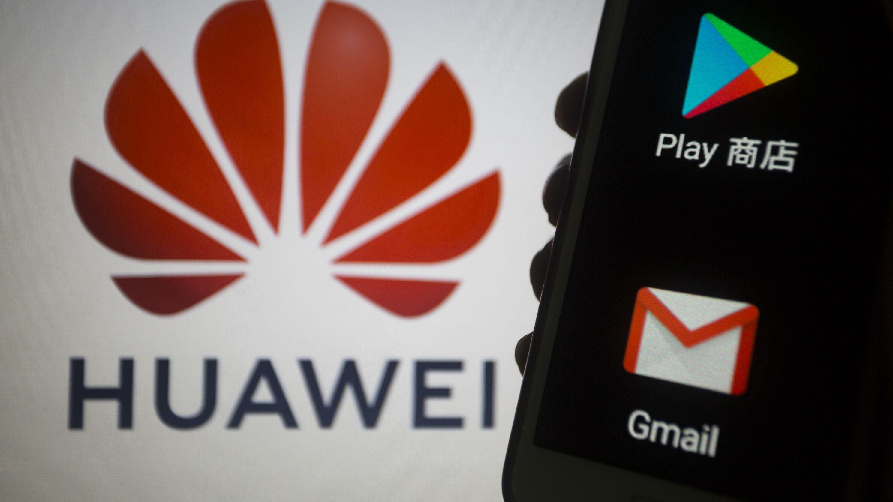 Google hat die technische Unterstützung seines Betriebssystem Android für Huawei-Smartphones aufgekündigt.
