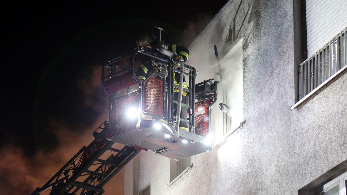Brand in Großostheim