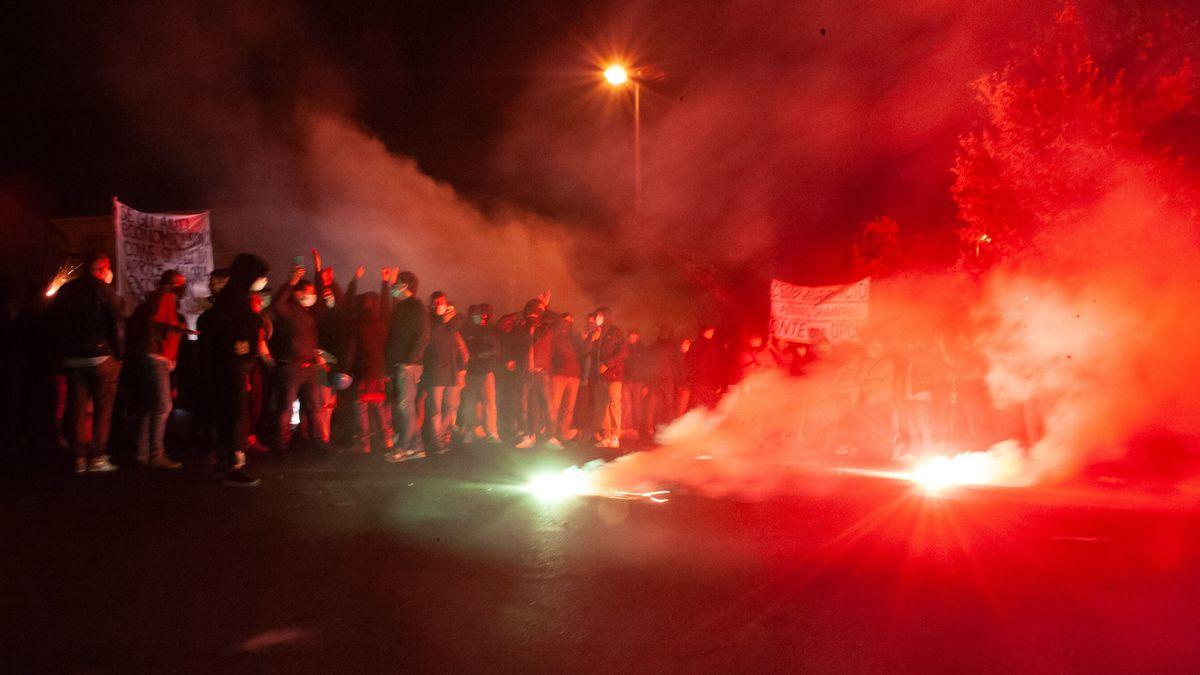 Proteste gegen Corona-Maßnahmen in Italien
