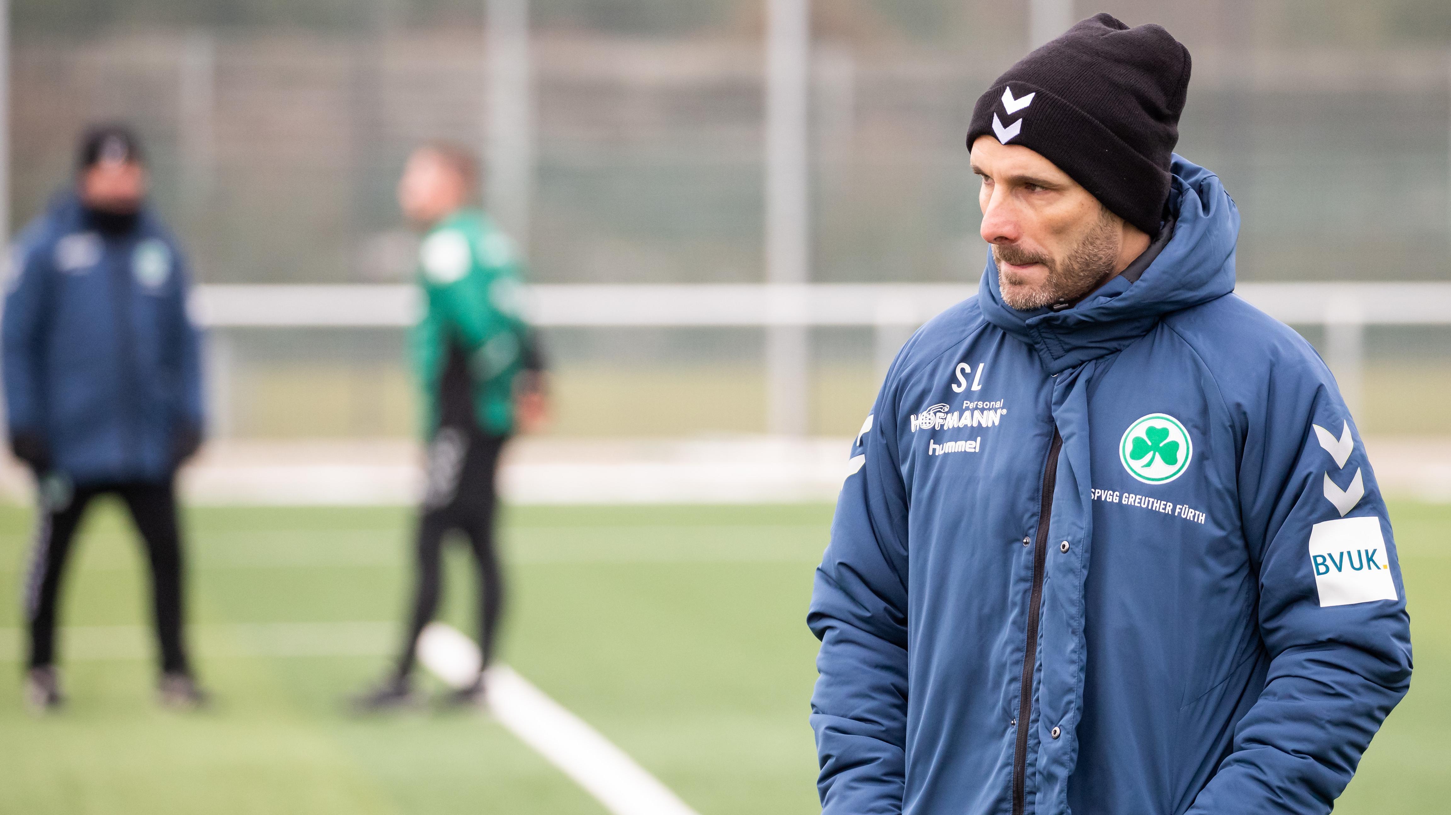 Stefan Leitl bei seinem ersten Training