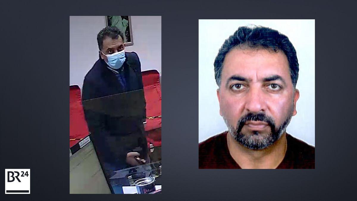 Die Polizei sucht nach diesem 41-jährigen Mann, der seine Ehefrau getötet haben soll.