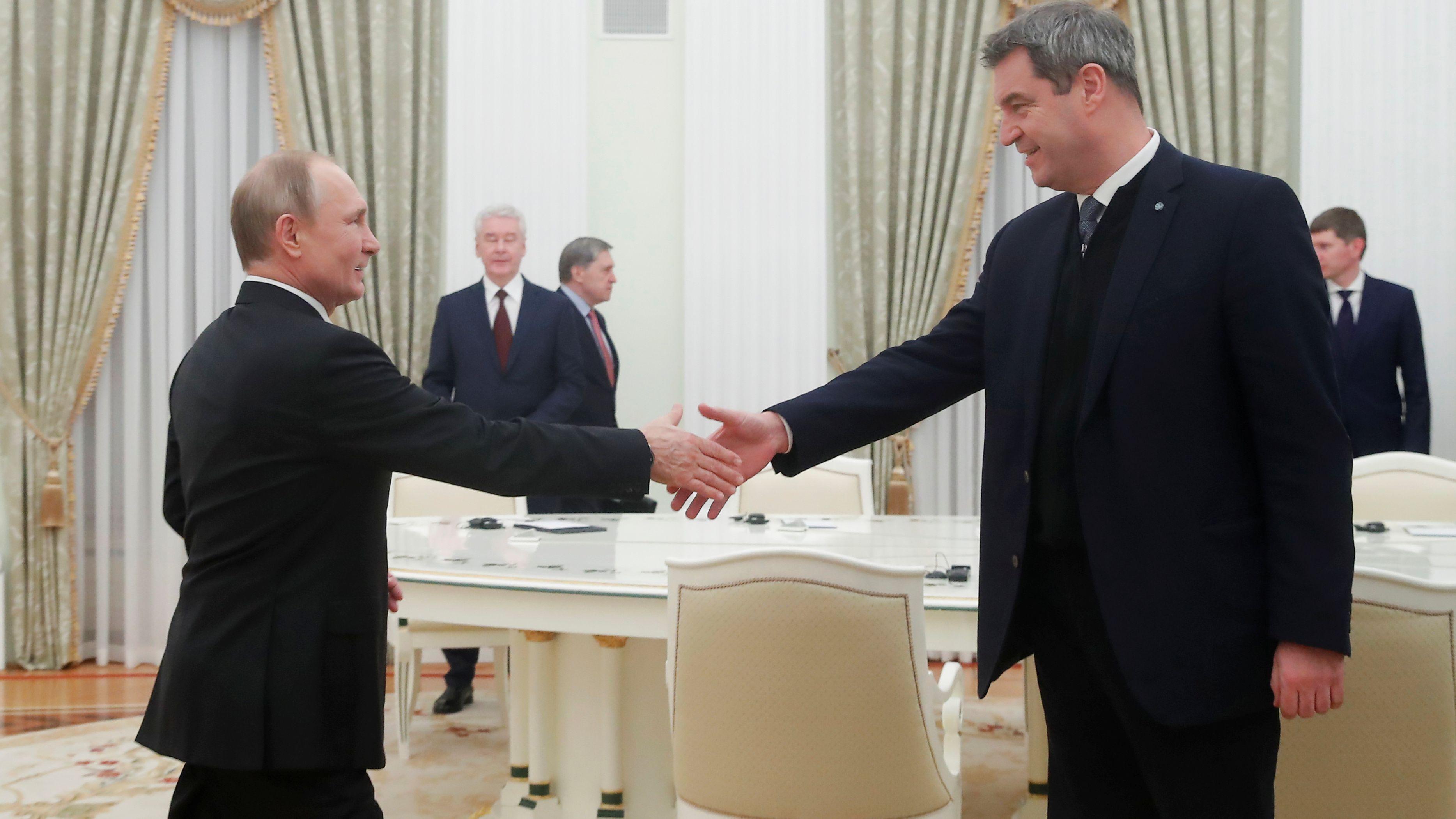 Putin und Söder