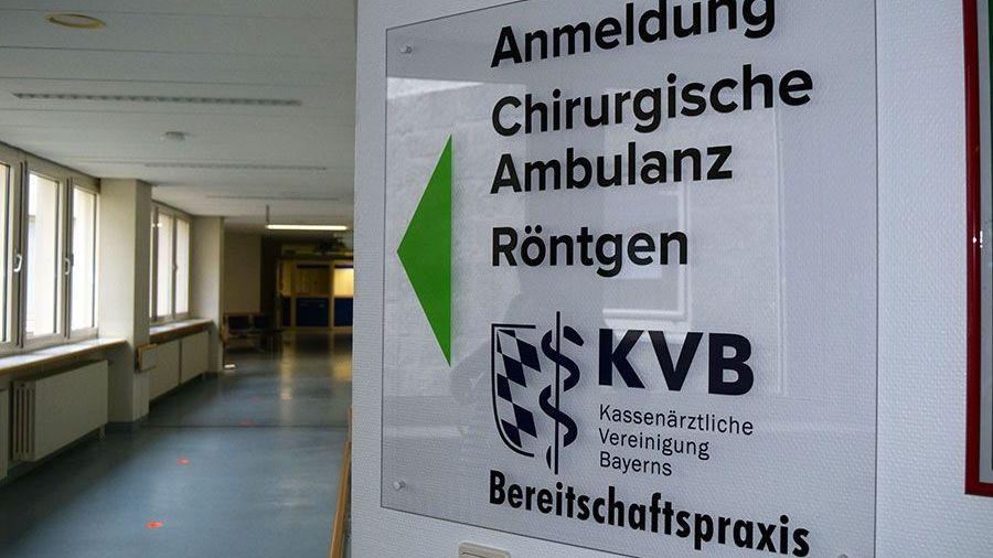 Die Bereitschaftspraxen in Krankenhäusern erreicht man unter der 116 117.