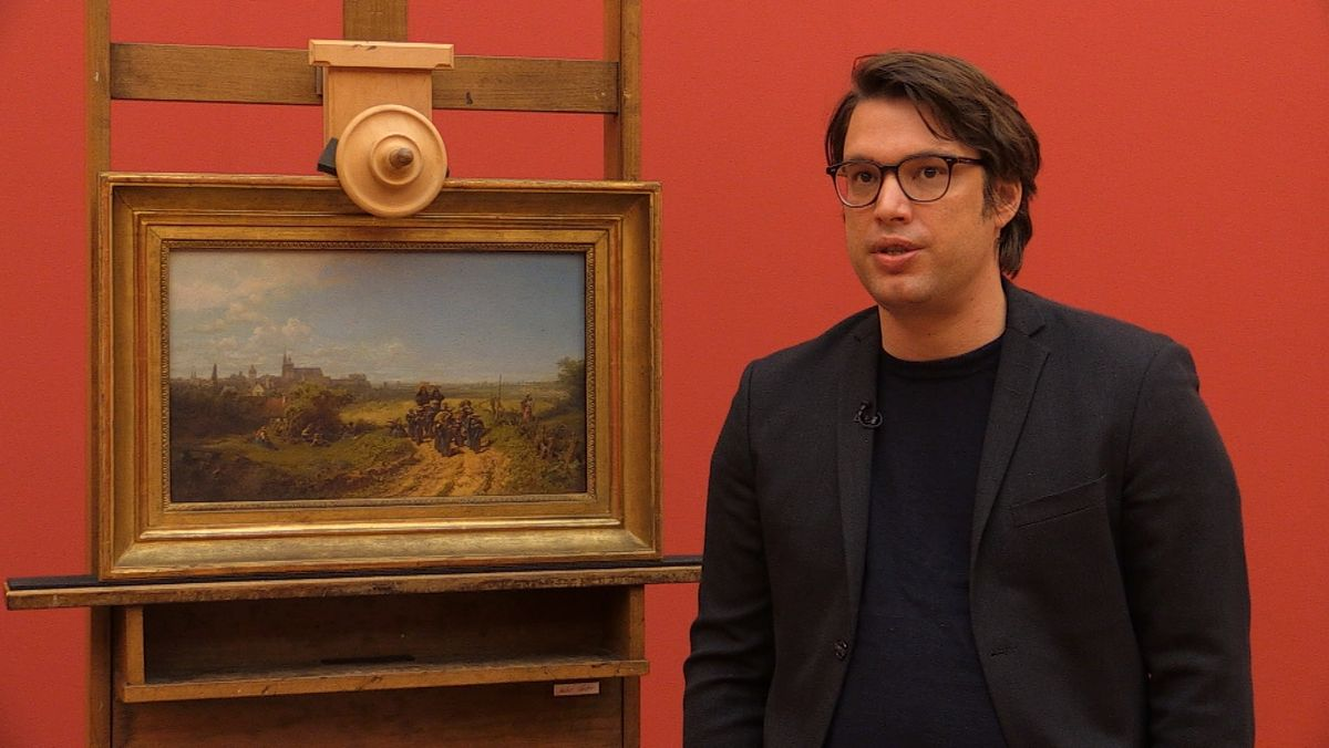 Kunsthistoriker Johannes Gramlich