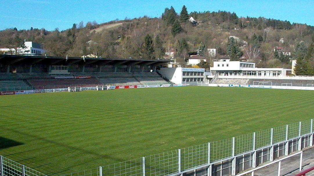 Das Stadion der Würzburger Kickers