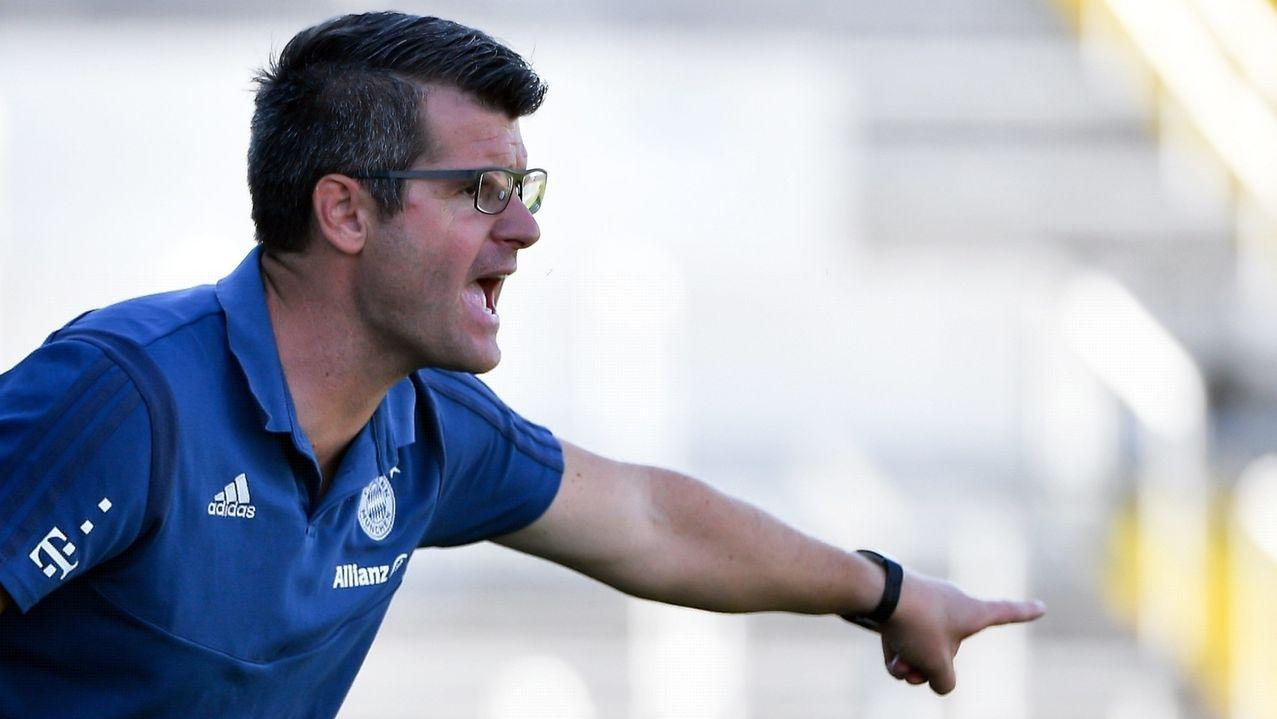 Trainer Jens Scheuer vom FC Bayern