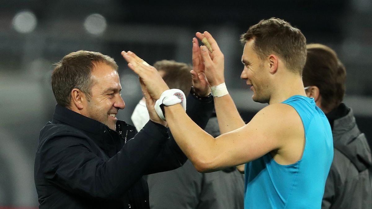 Hansi Flick und Manuel Neuer