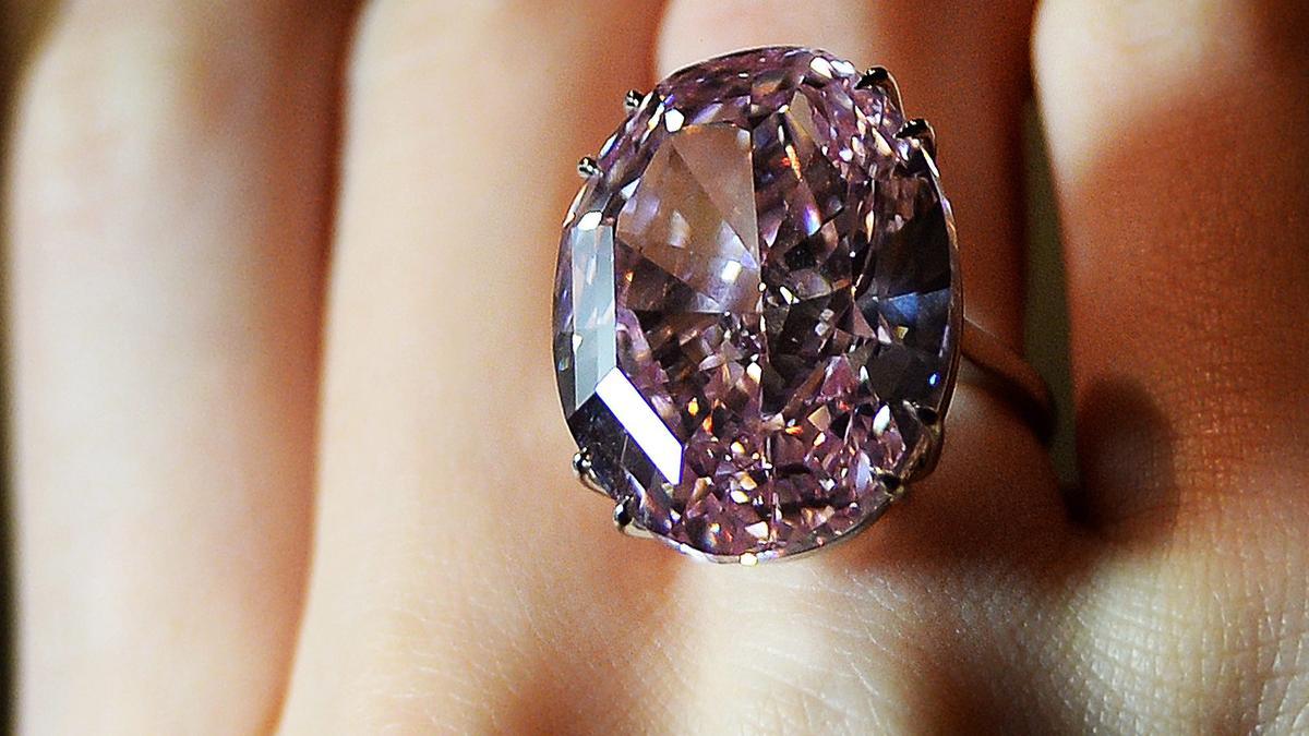 """Der Diamant """"Pink Star"""""""