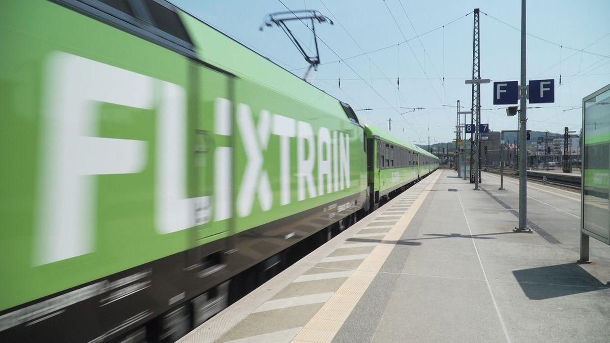 Flixtrain bietet Alternative zur Deutschen Bahn