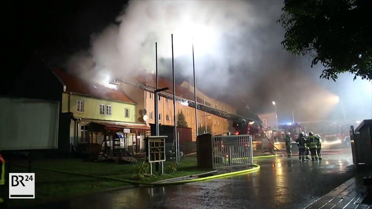 Brand in Obdachlosenunterkunft in Miltenberg