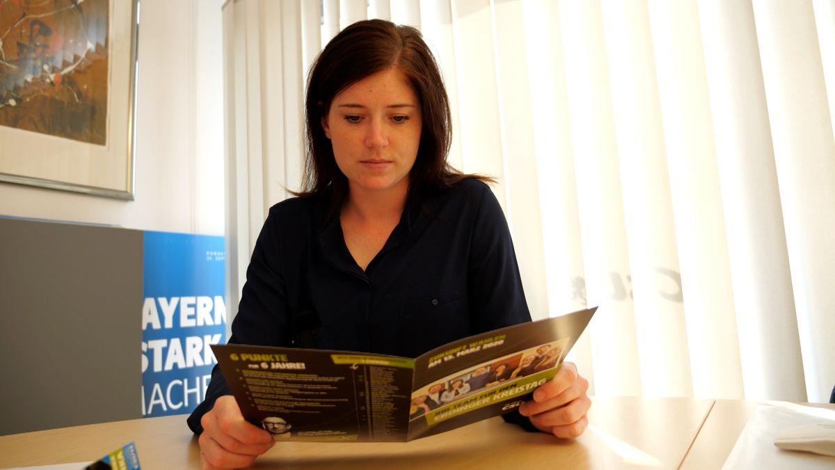 Monika Pieczonka von der Jungen Union