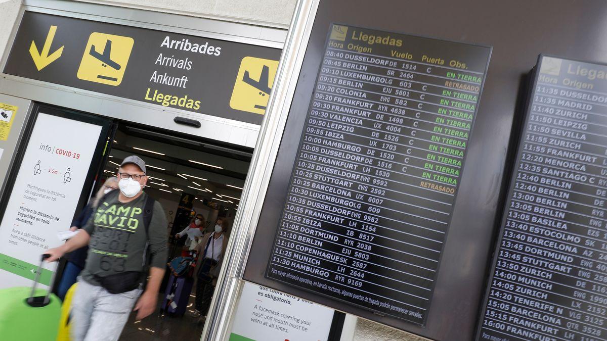 Der Flughafen von Palma de Mallorca - ab jetzt müssen sich deutsche Reiserückkehrer hier vor dem Rückflug testen lassen.