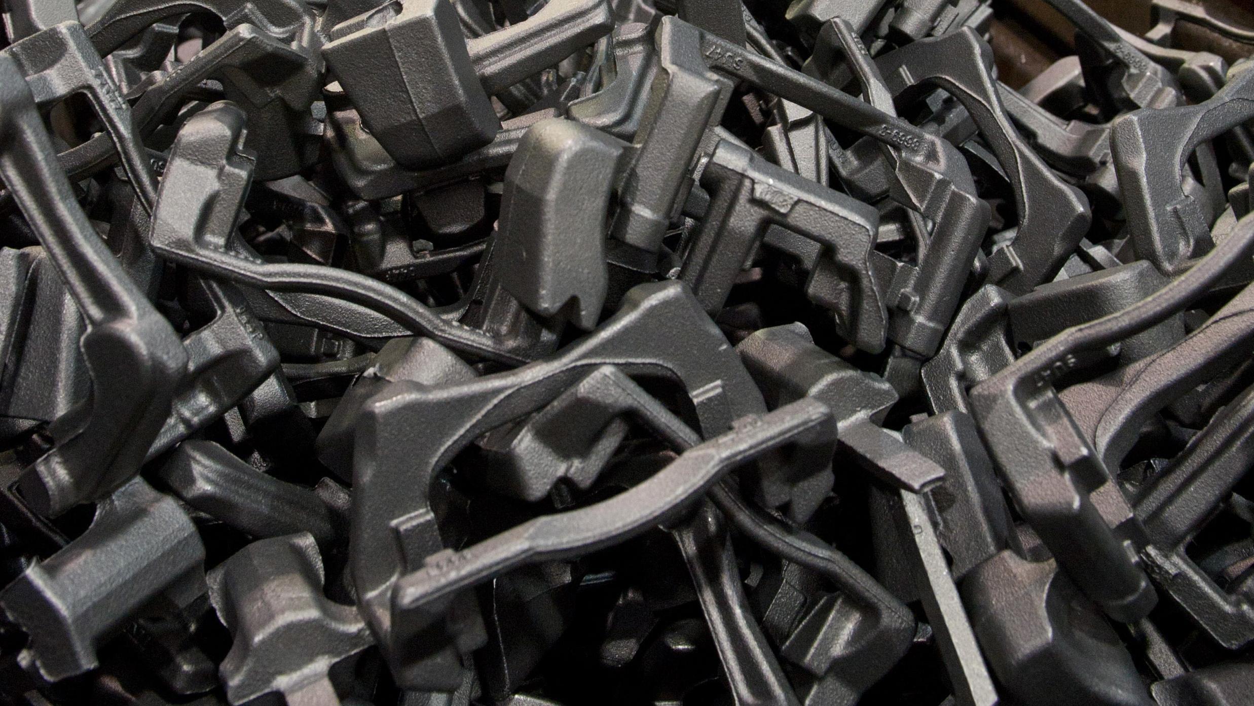Symbolbild: Gussteile für die Autoindustrie