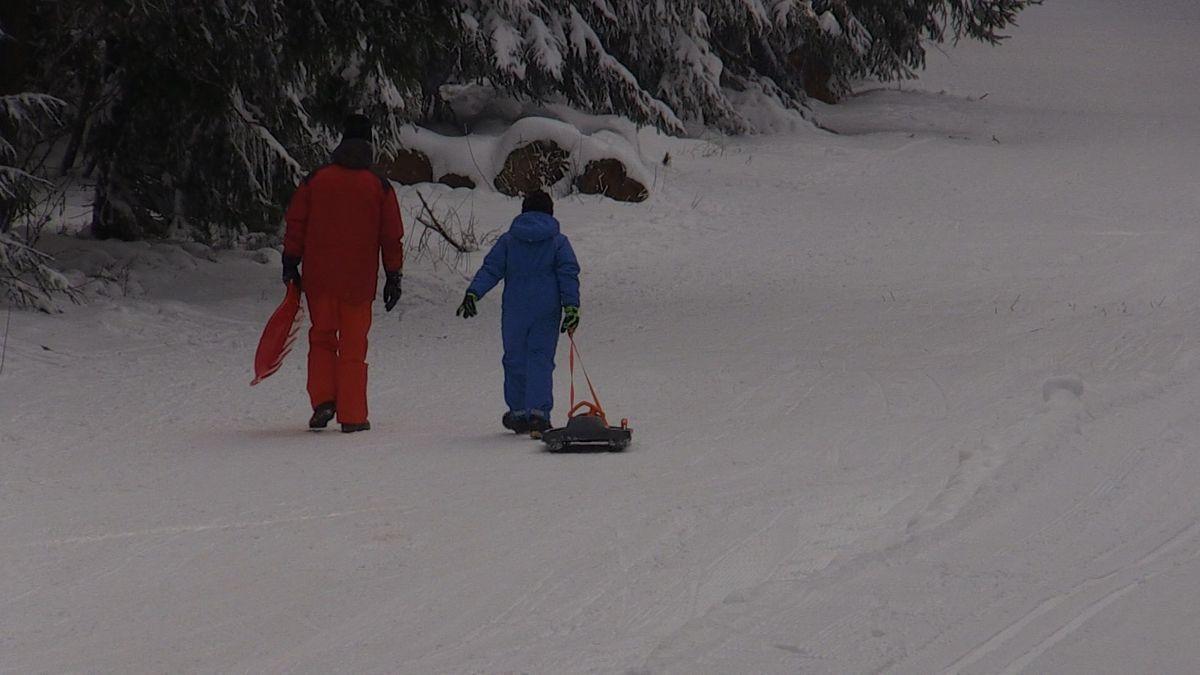 St. Englmar ist ein beliebter Ausgangspunkt für Langläufer, Winterwanderer oder Rodeler. Die Skilife haben coronabedingt geschlossen.