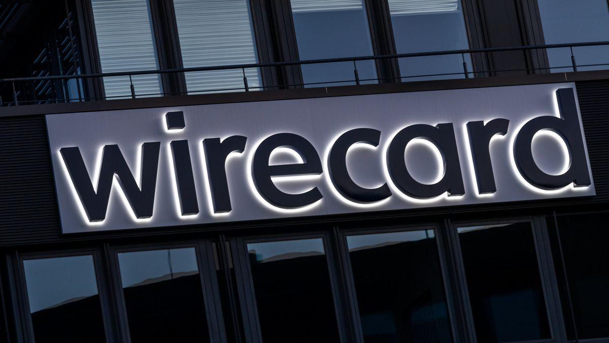 Der Schriftzug von Wirecard ist an der Firmenzentrale des Zahlungsdienstleisters in Aschheim bei München zu sehen.