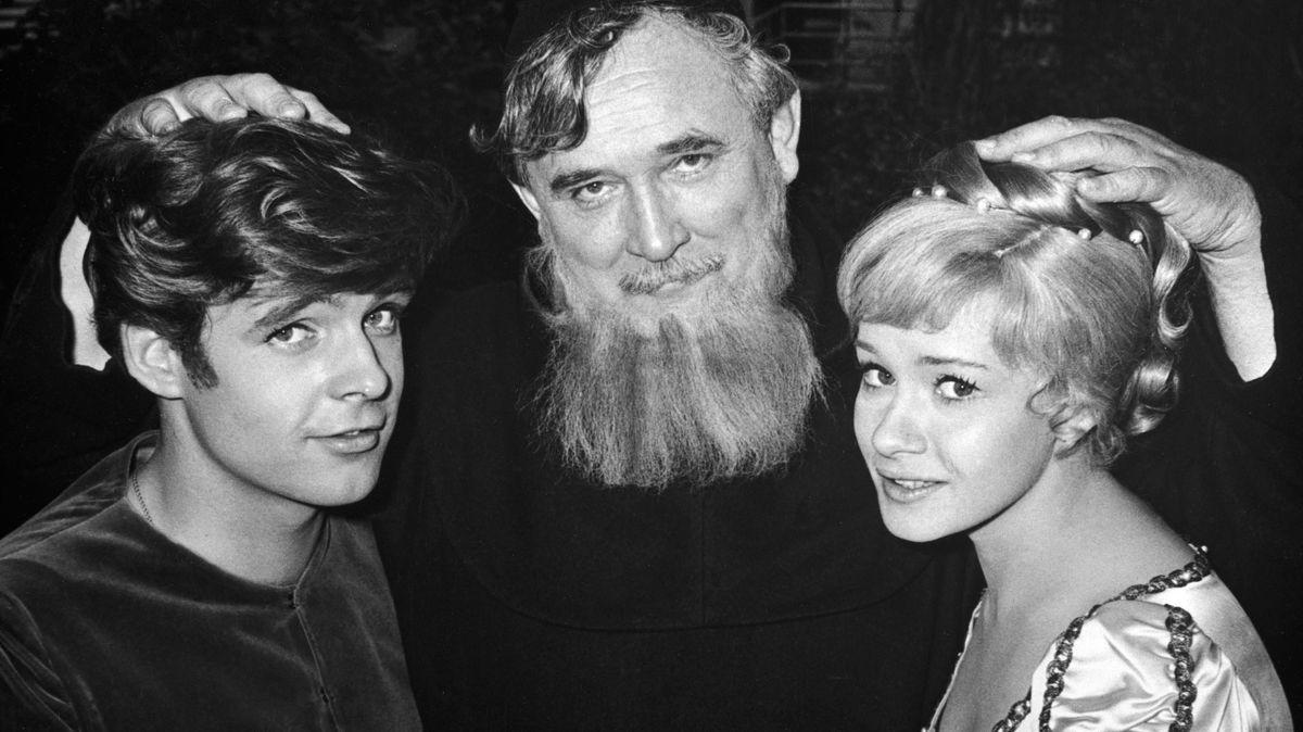 """Am Set von """"Das hab ich von Papa gelernt"""", 1964"""