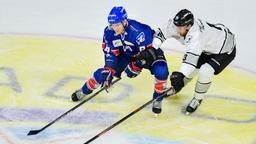 Spielszene Nürnberg Ice Tigers - Adler Mannheim | Bild:picture-alliance/dpa