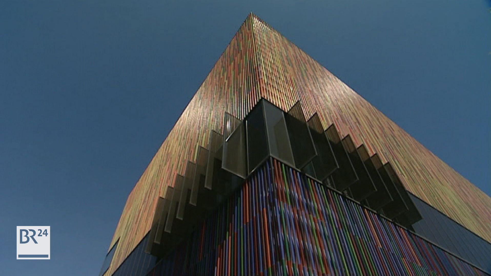 Die Fassade des Museum Brandhorst