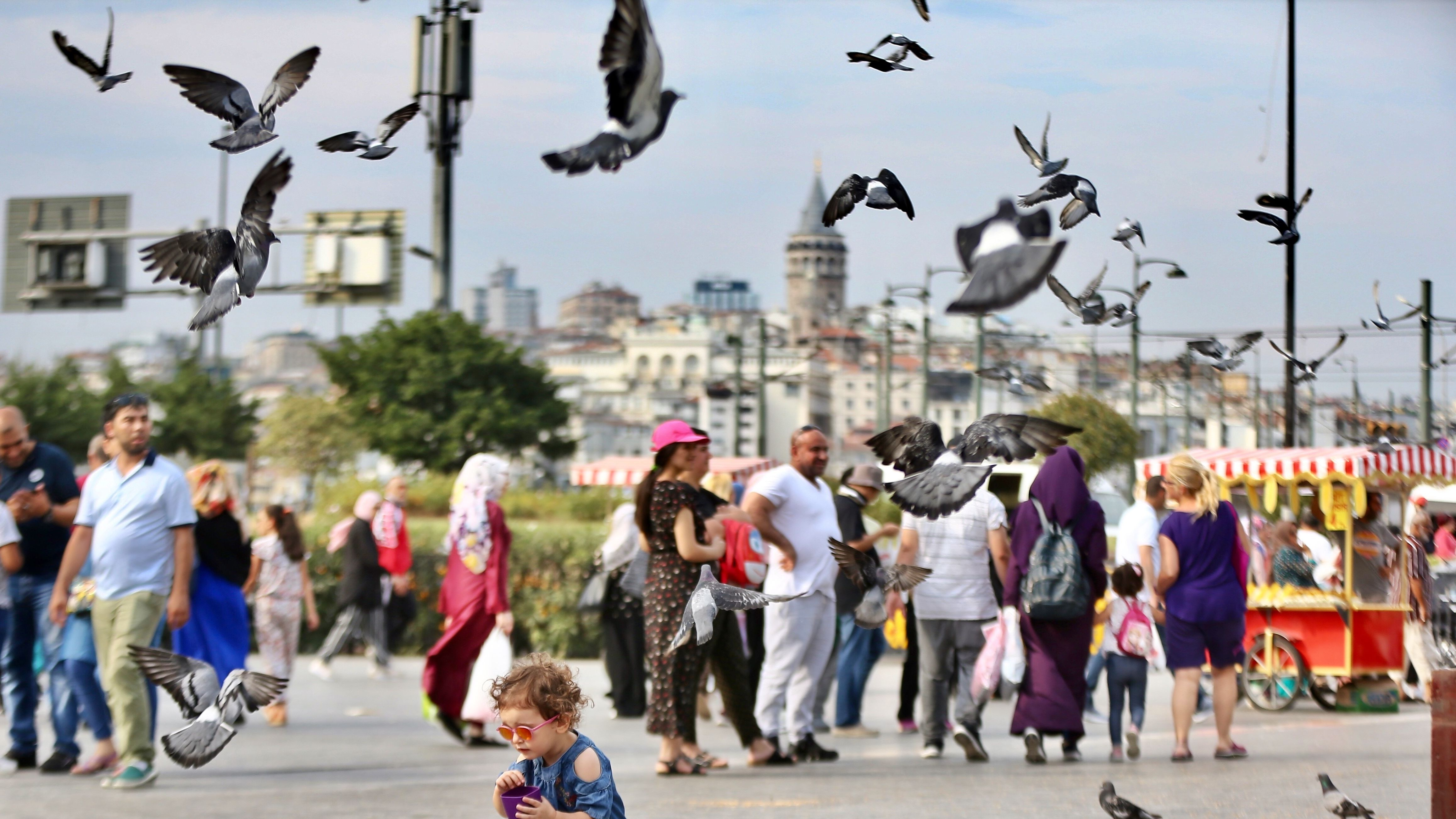 Stadtszene in Istanbul