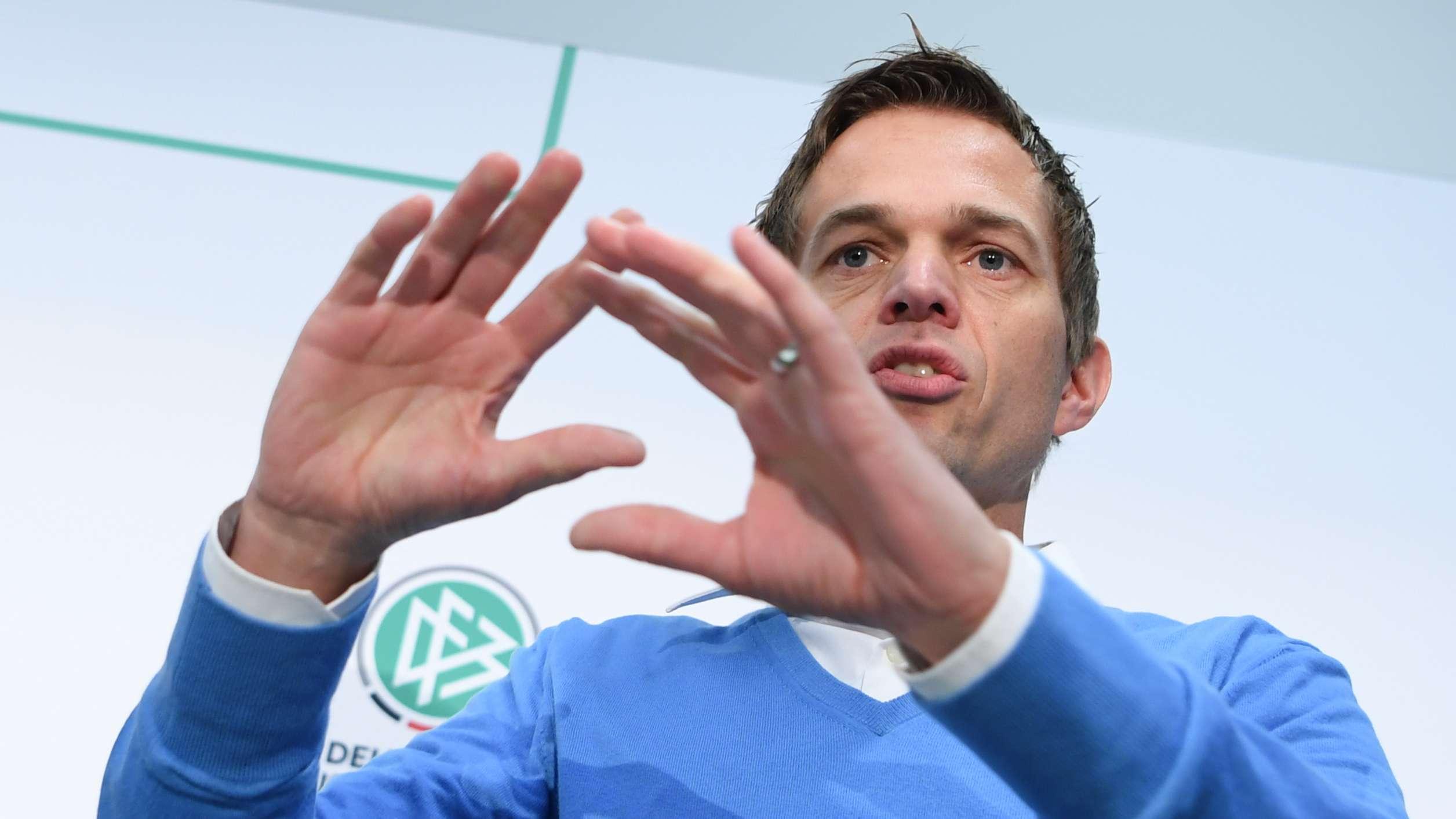 Jochen Drees, fachlicher Projektleiter für den Bereich Video-Assistent beim DFB