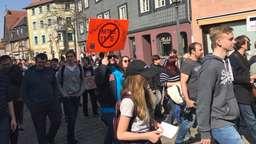 Europaweite Proteste gegen EU-Reform zum Urheberrecht in Fürth am 23.03.19 | Bild:BR / Schmidt