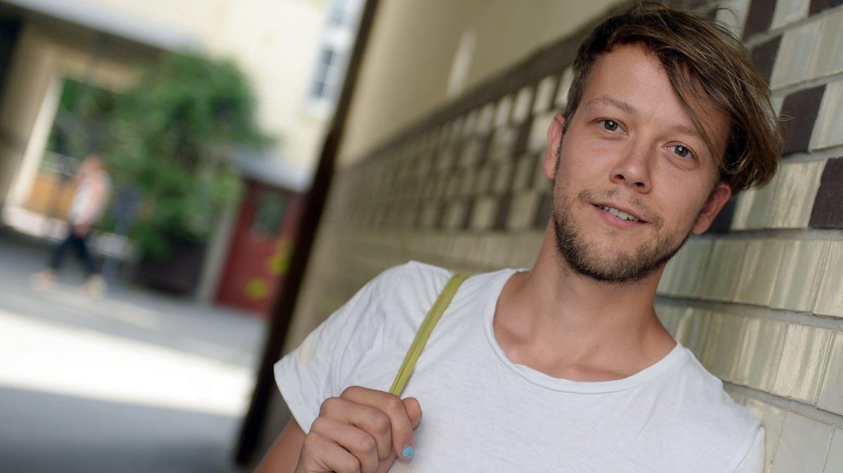 """Michael Bohmeyer vom Verein""""Mein Grundeinkommen"""", Mitinitiator der Langzeitstudie zu den Auswirkungen eines bedingungslosen Grundeinkommens"""