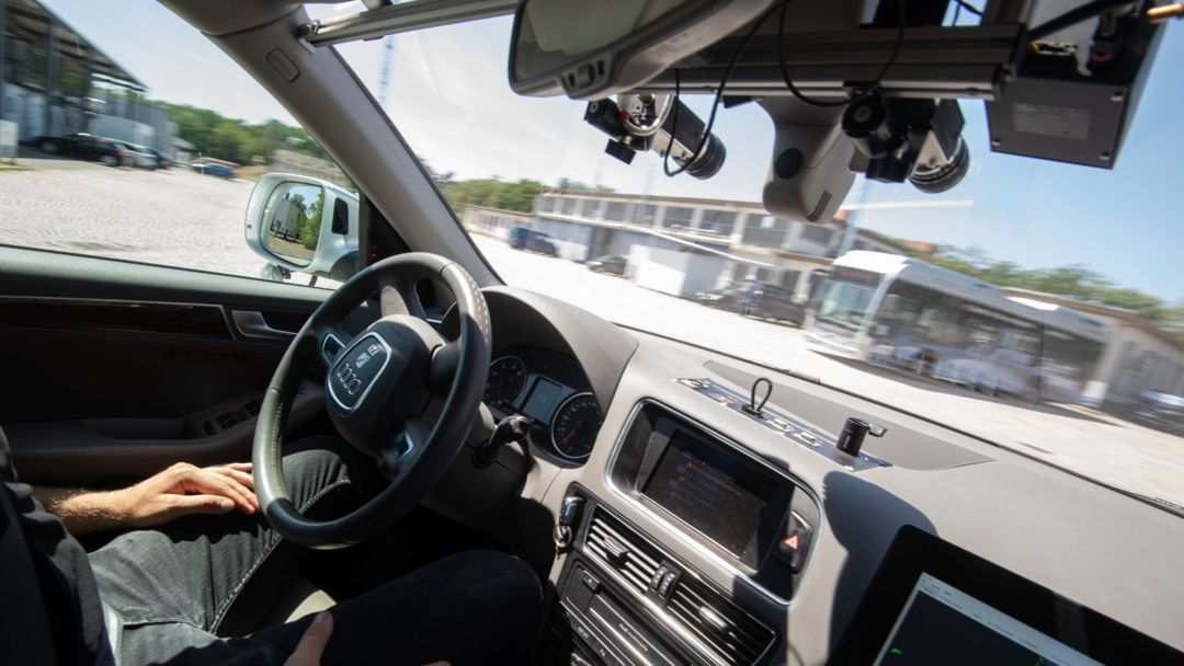 Testfeld autonomes Fahren