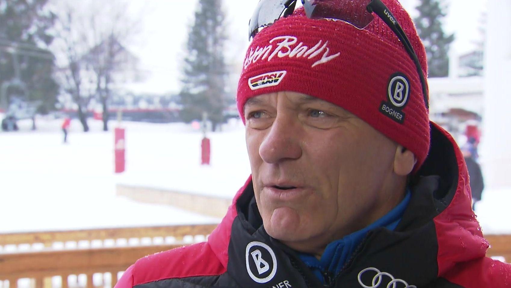 DSV-Direktor Wolfgang Maier