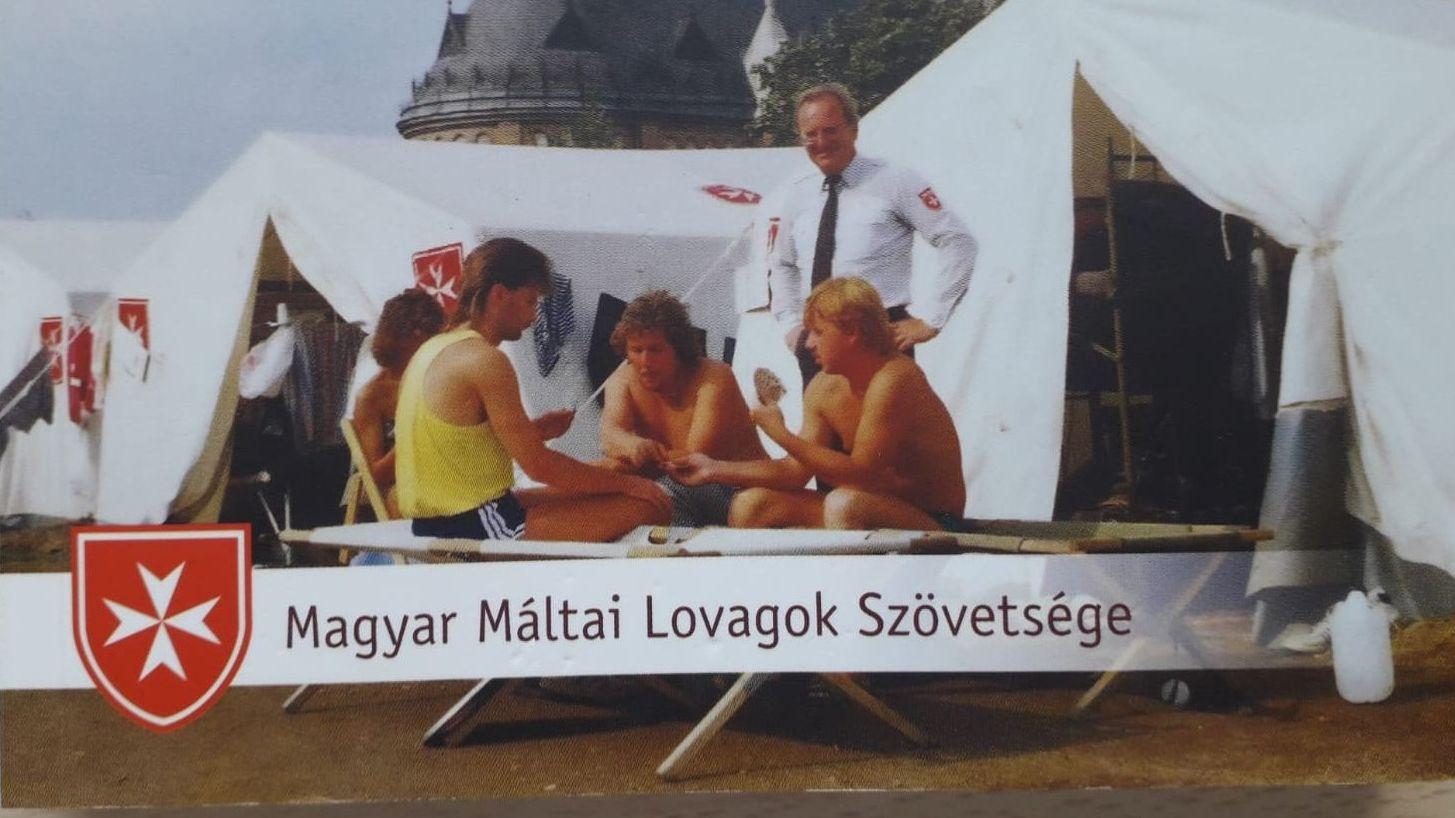 Vor 30 Jahren in Budapest - im Hilfslager der Malteser