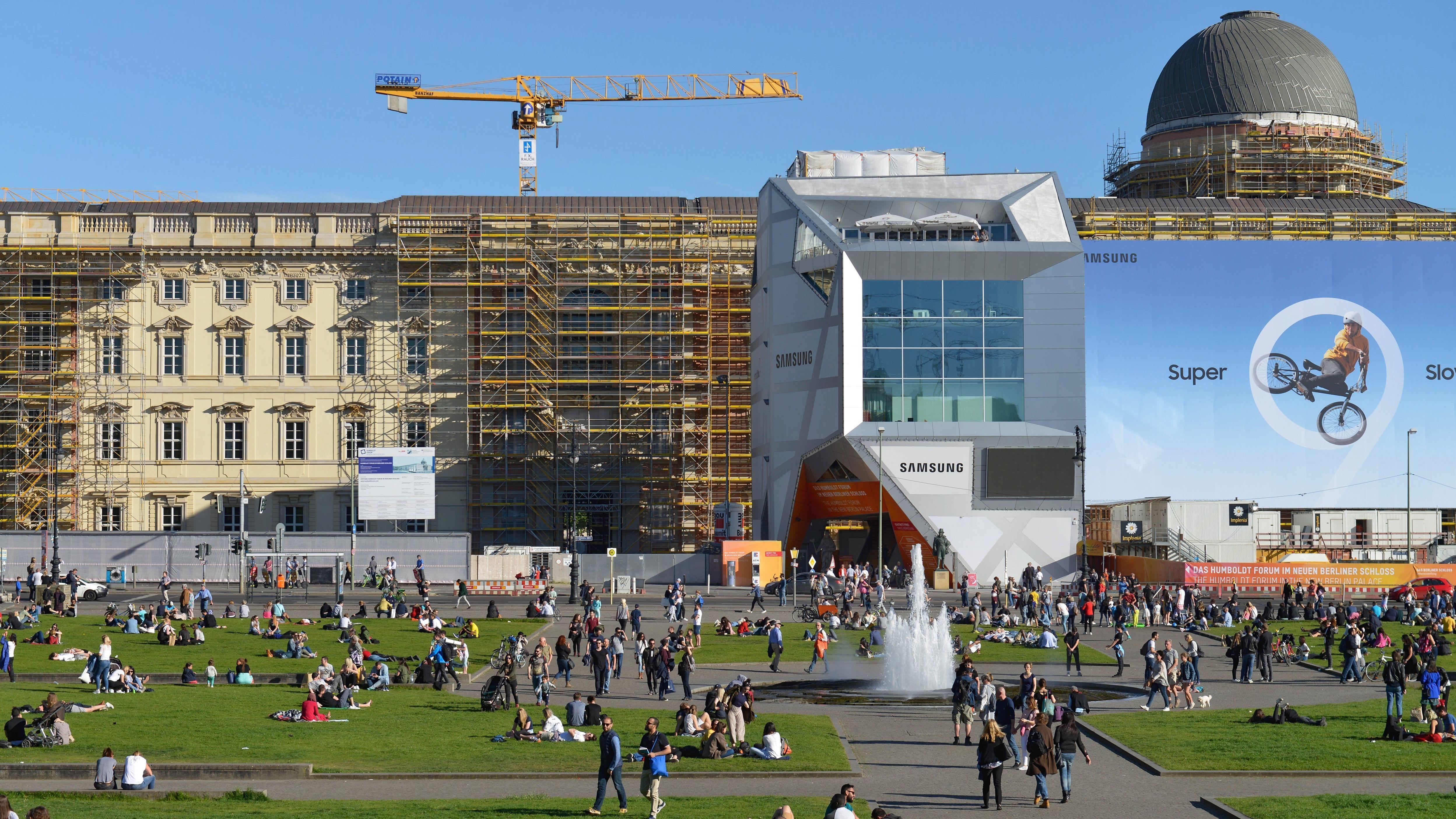 Baustelle Humboldtforum
