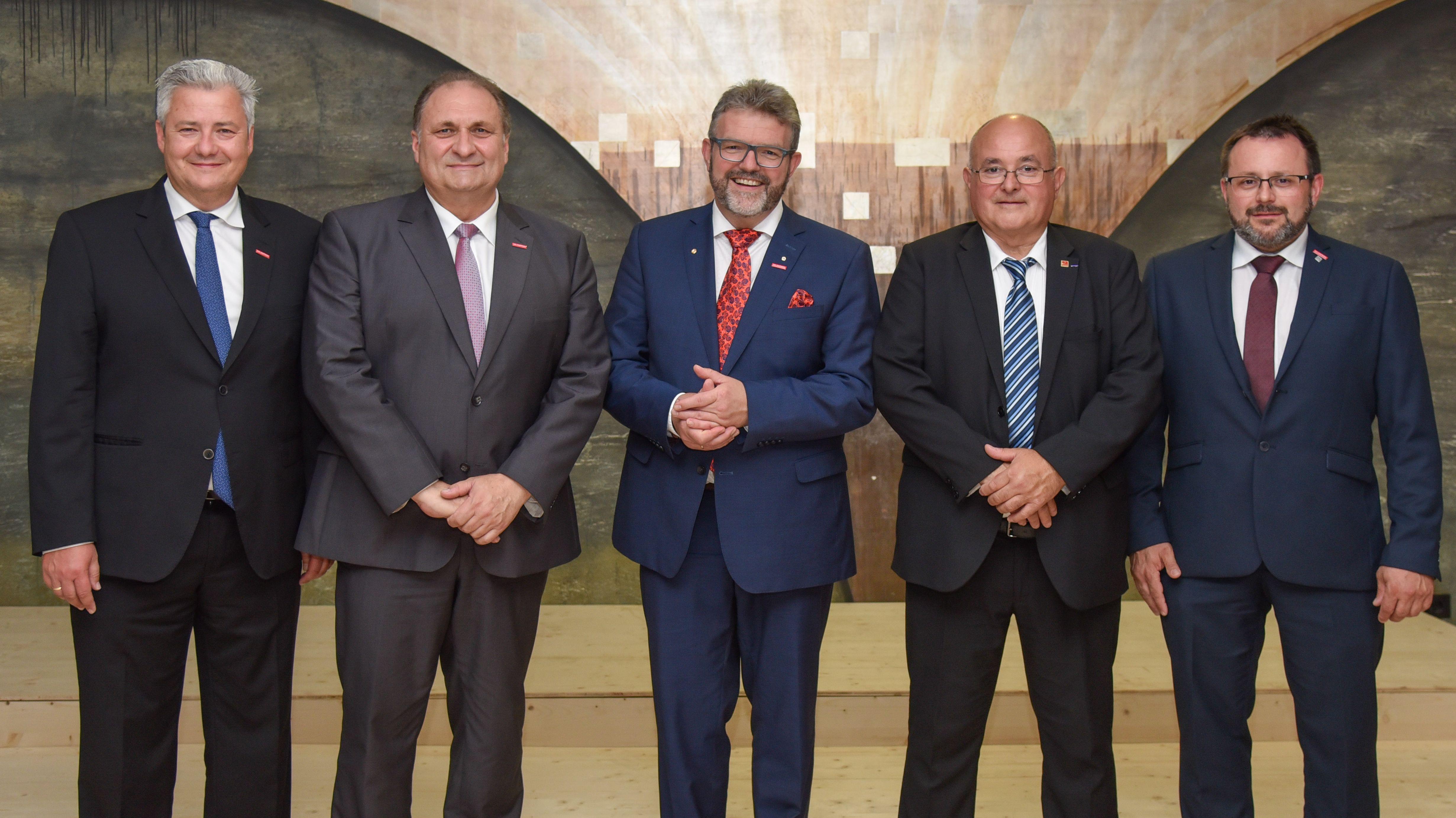 Die Präsidenten der HWK Oberfranken mit Gästen